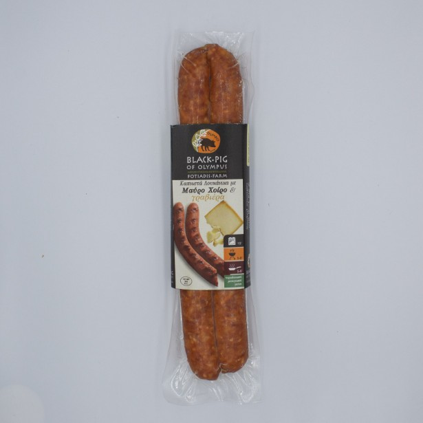 Sausages with Wild Boar and Graviera Cheese 160gr