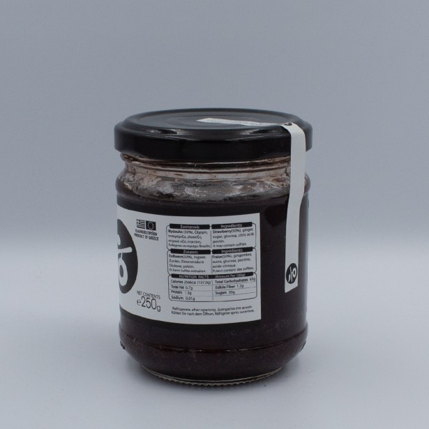 Strawberry and Ginger Jam 250gr