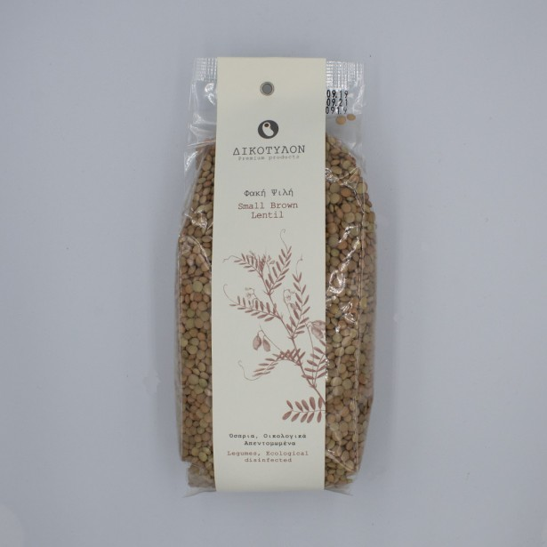 Small Brown Lentil from Thessaly 500gr